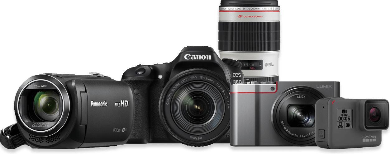 Cameras at Harvey Norman New Zealand