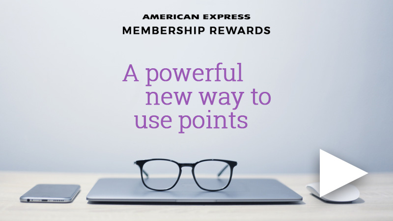 Harvey Norman How to shop with Amex Points Video Placeholder