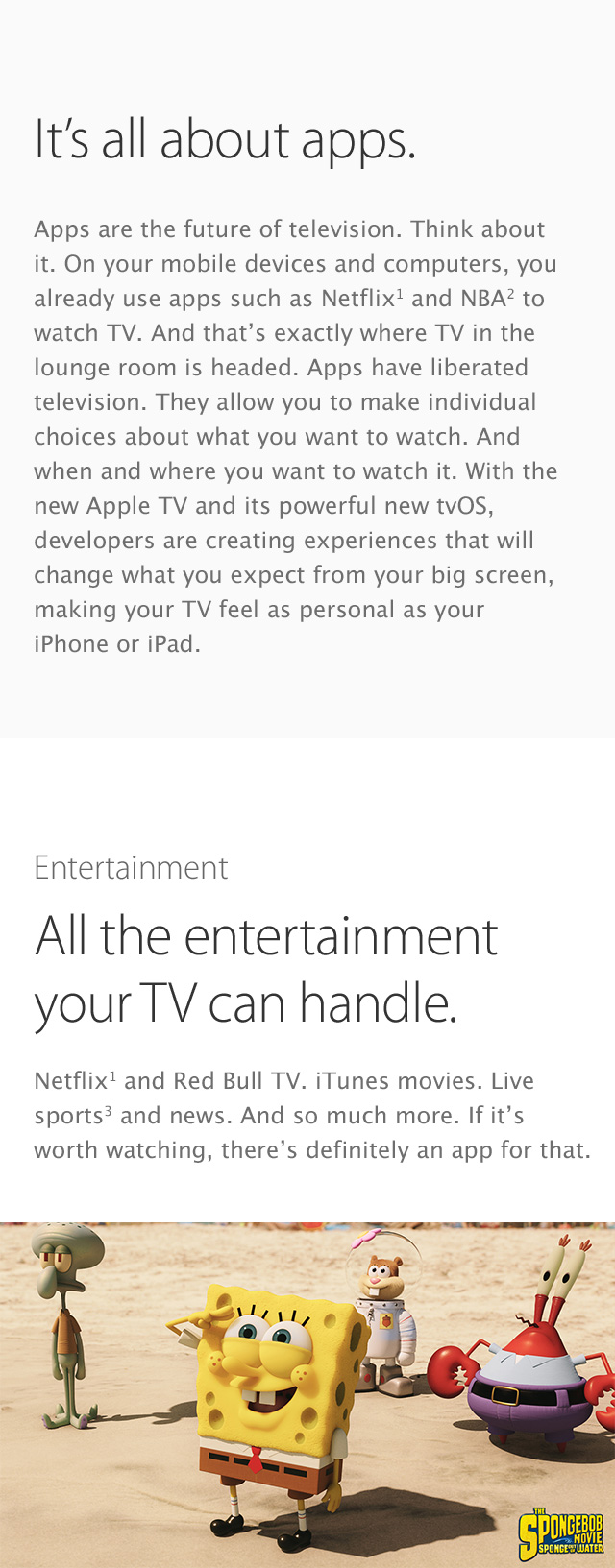 Apple TV features