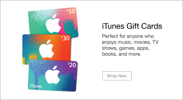 iTunes Gift Cards