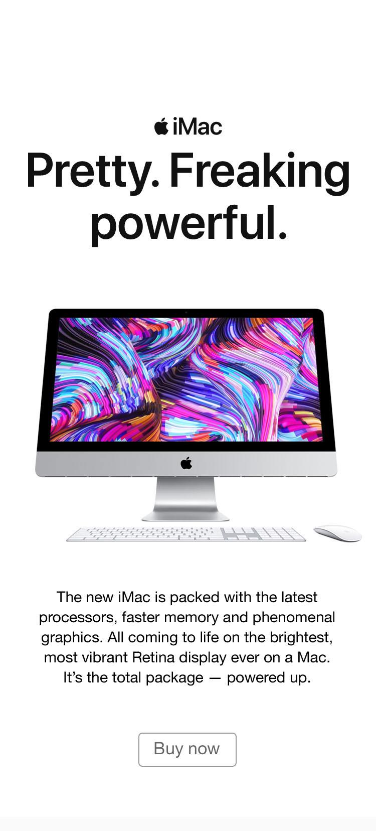 iMac March 2019