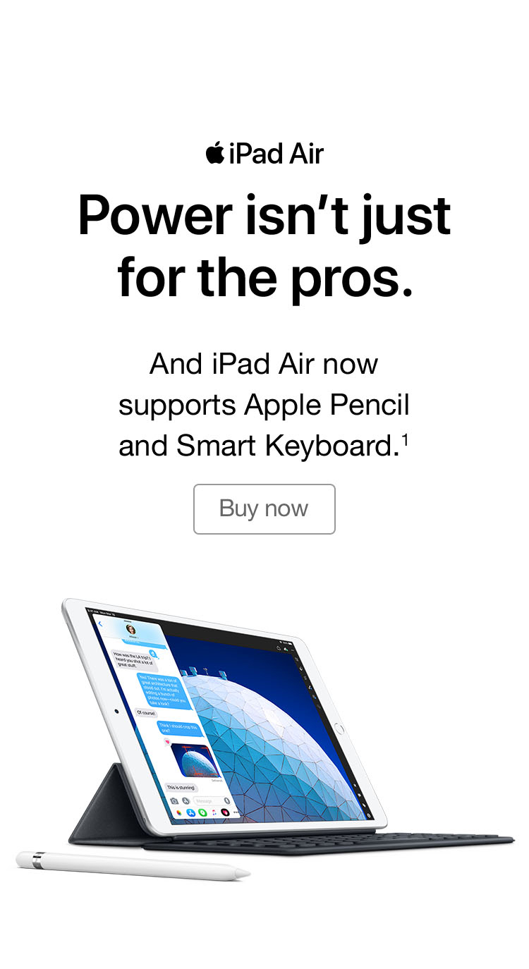 iPad Air March 2019