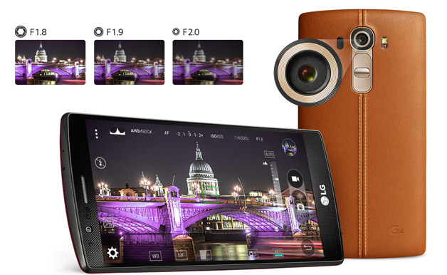 16MP Camera with f/1.8 Lens
