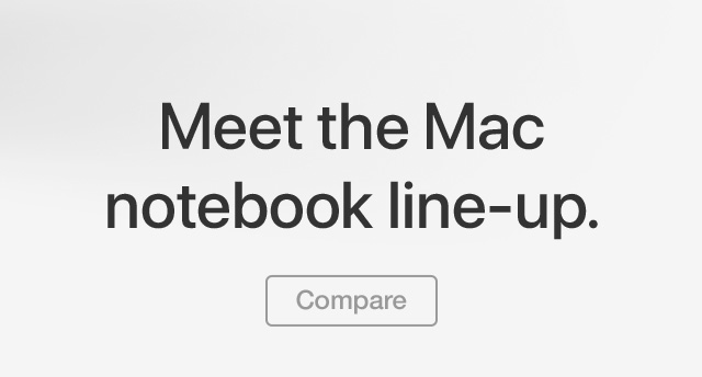 MacBook Compare