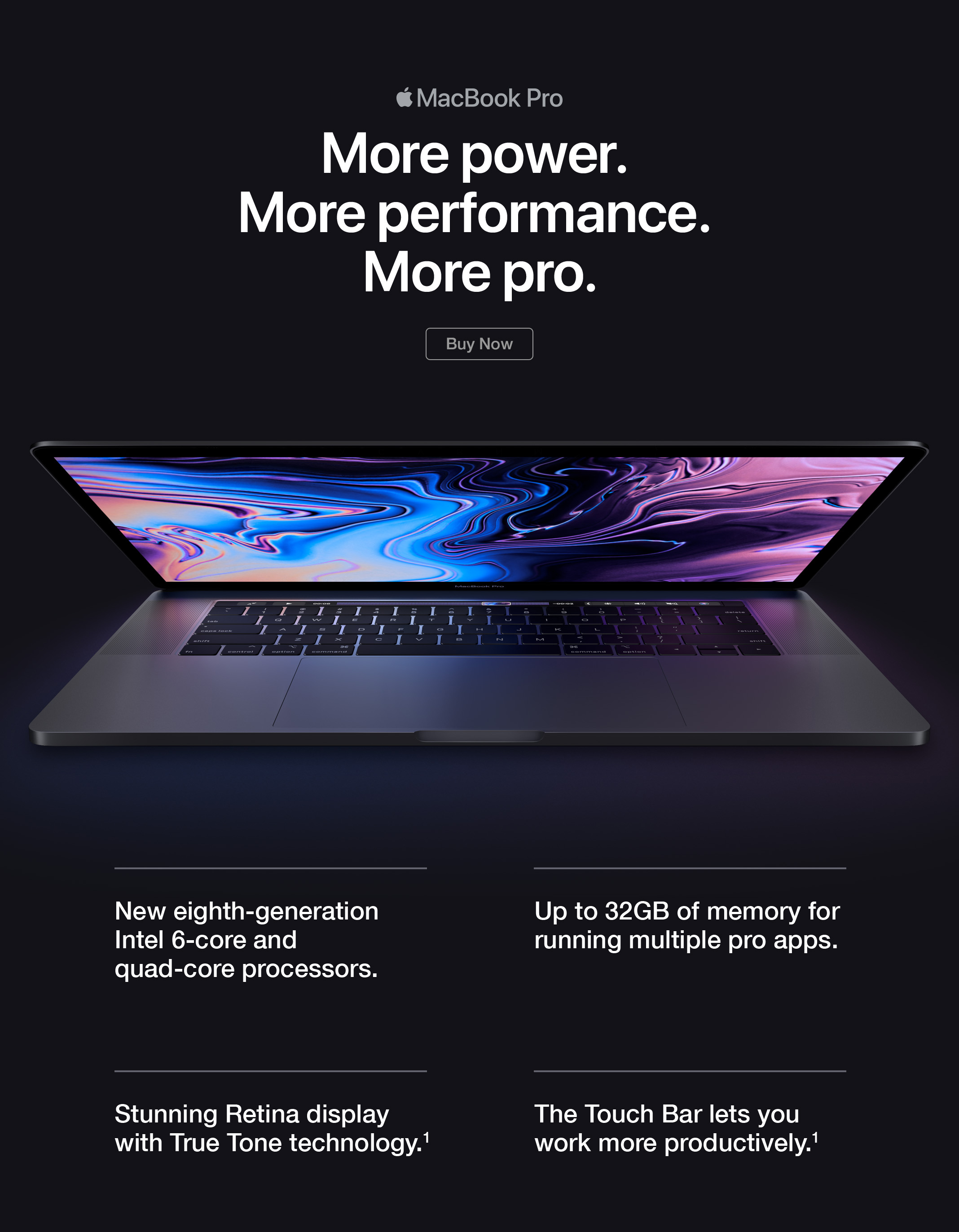 MacBook pro buy now