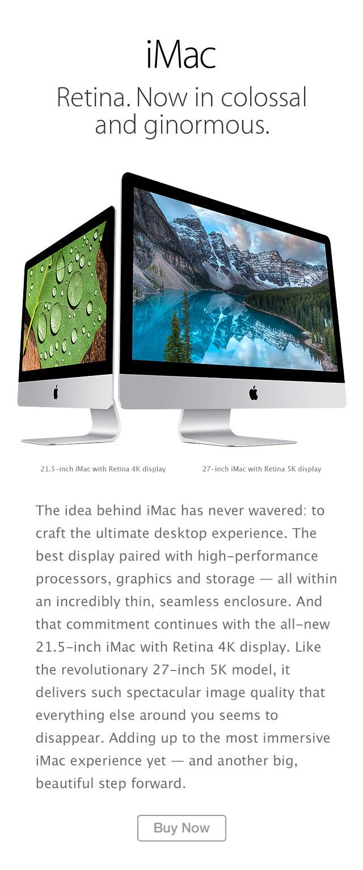 iMac buy now
