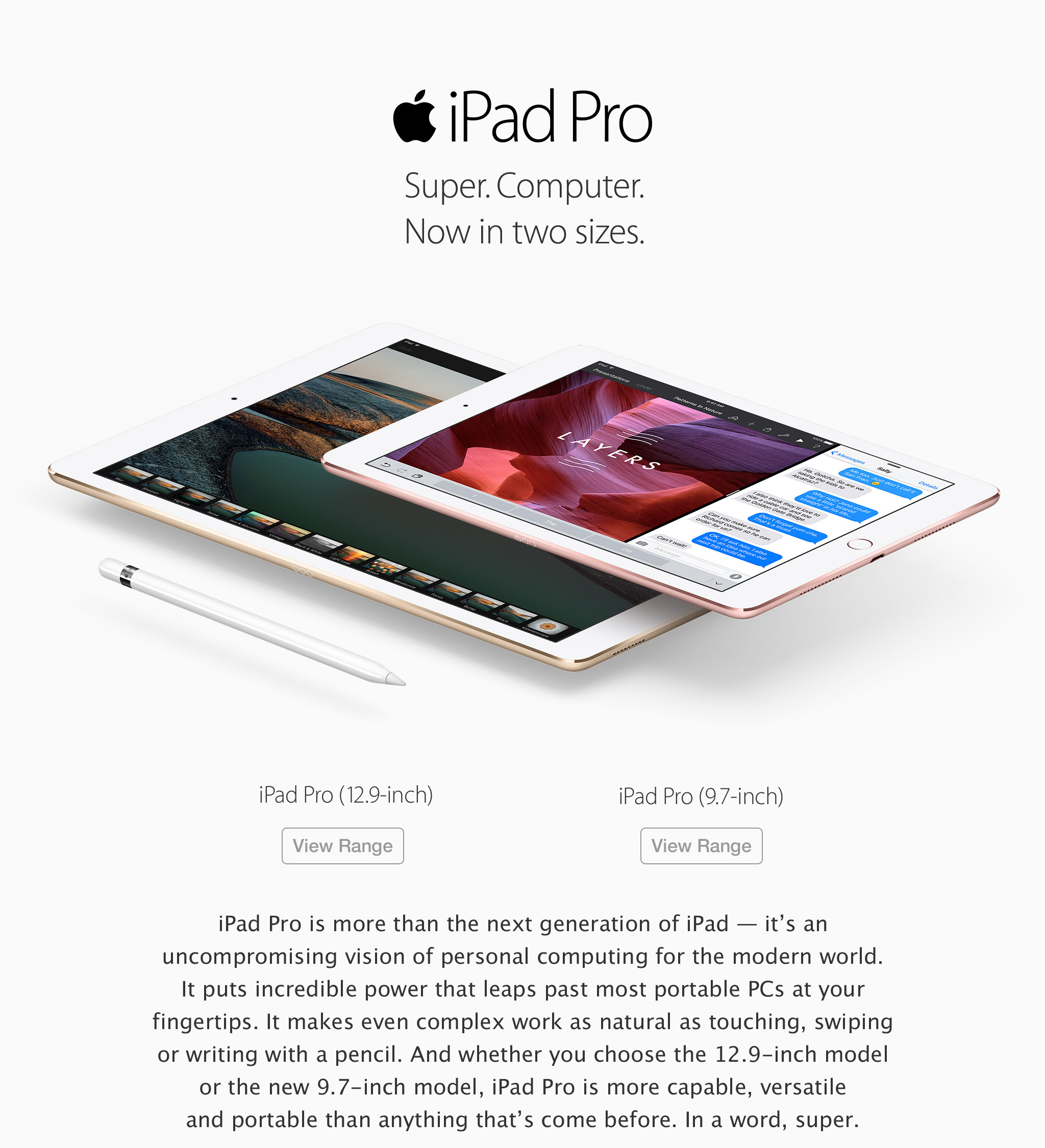 iPad Pro buy now