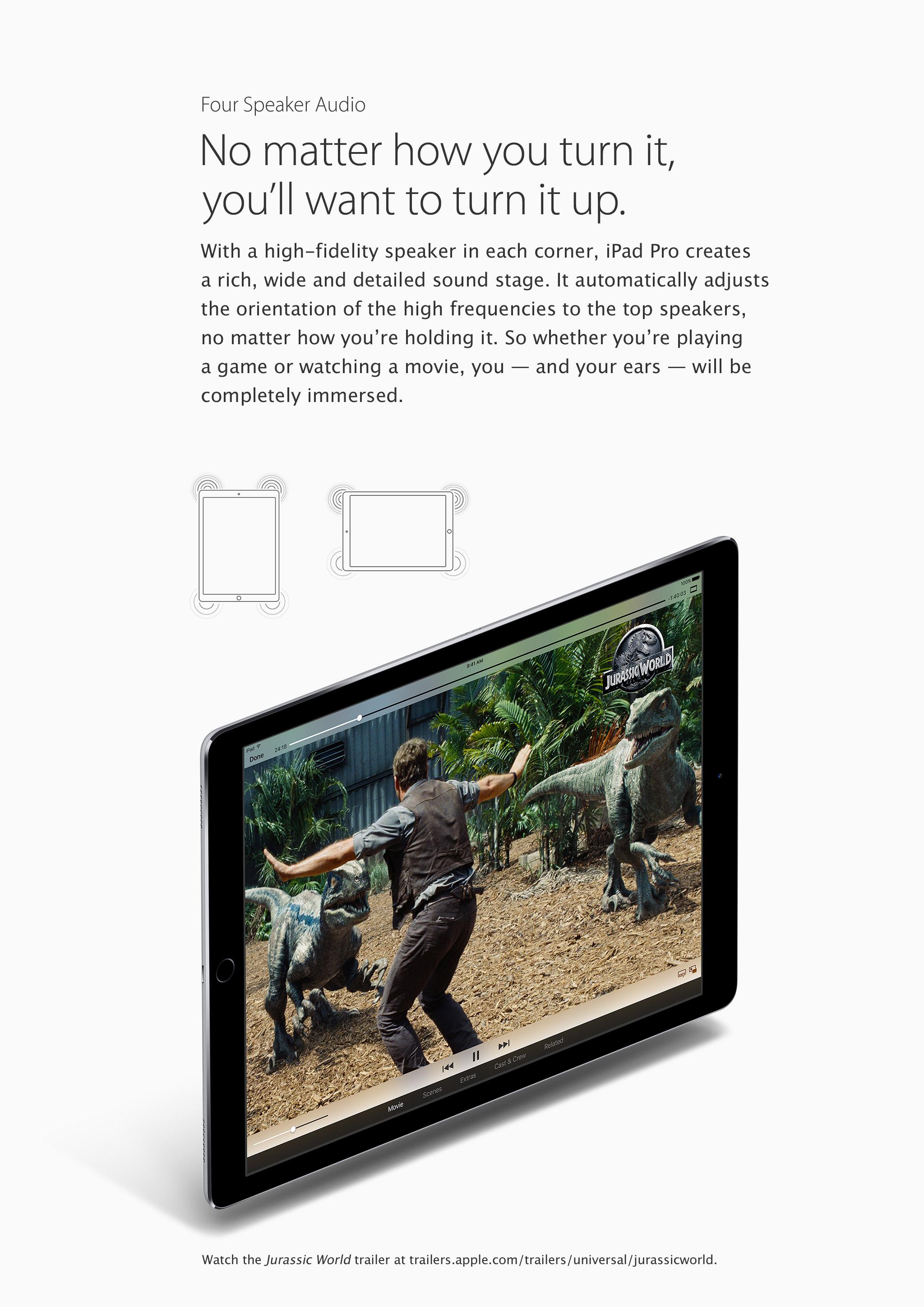 iPad Pro features