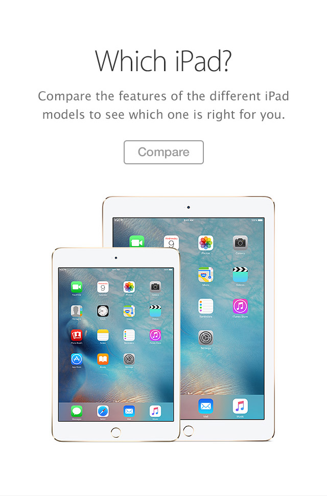 iPad Compare