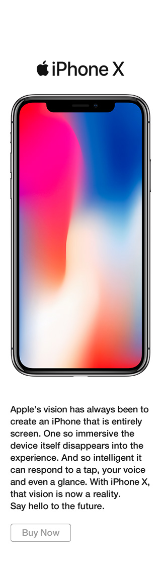 iPhone X buy now