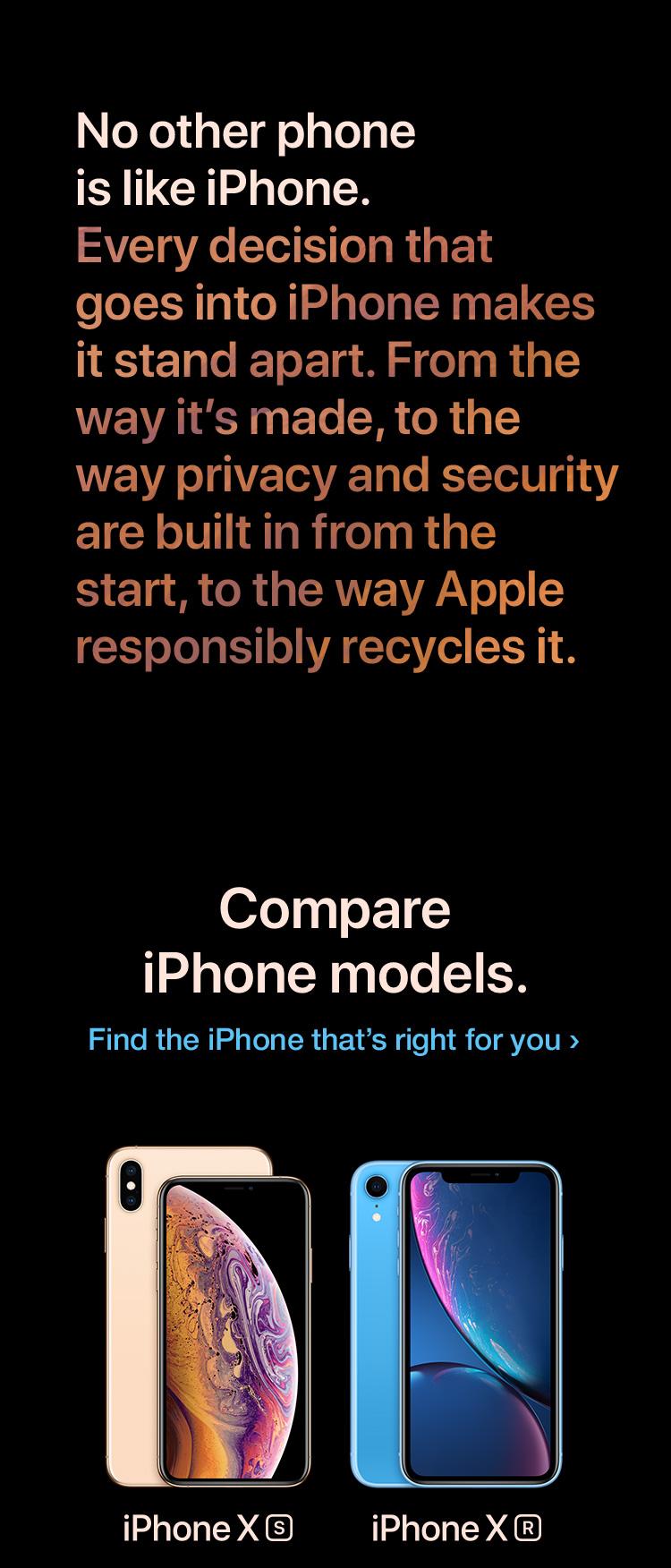 iPhone XS buy now