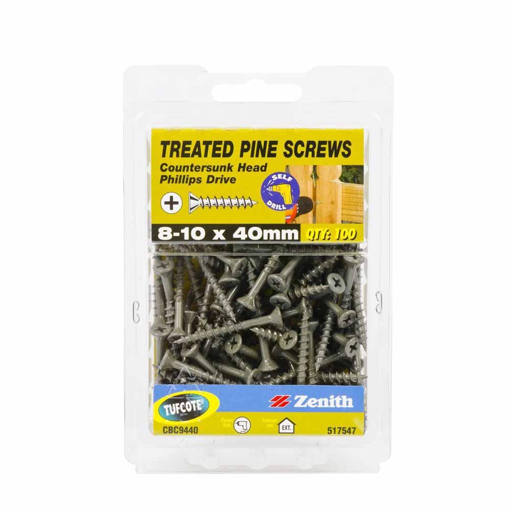 Zenith Treated Pine Screws Tufcote