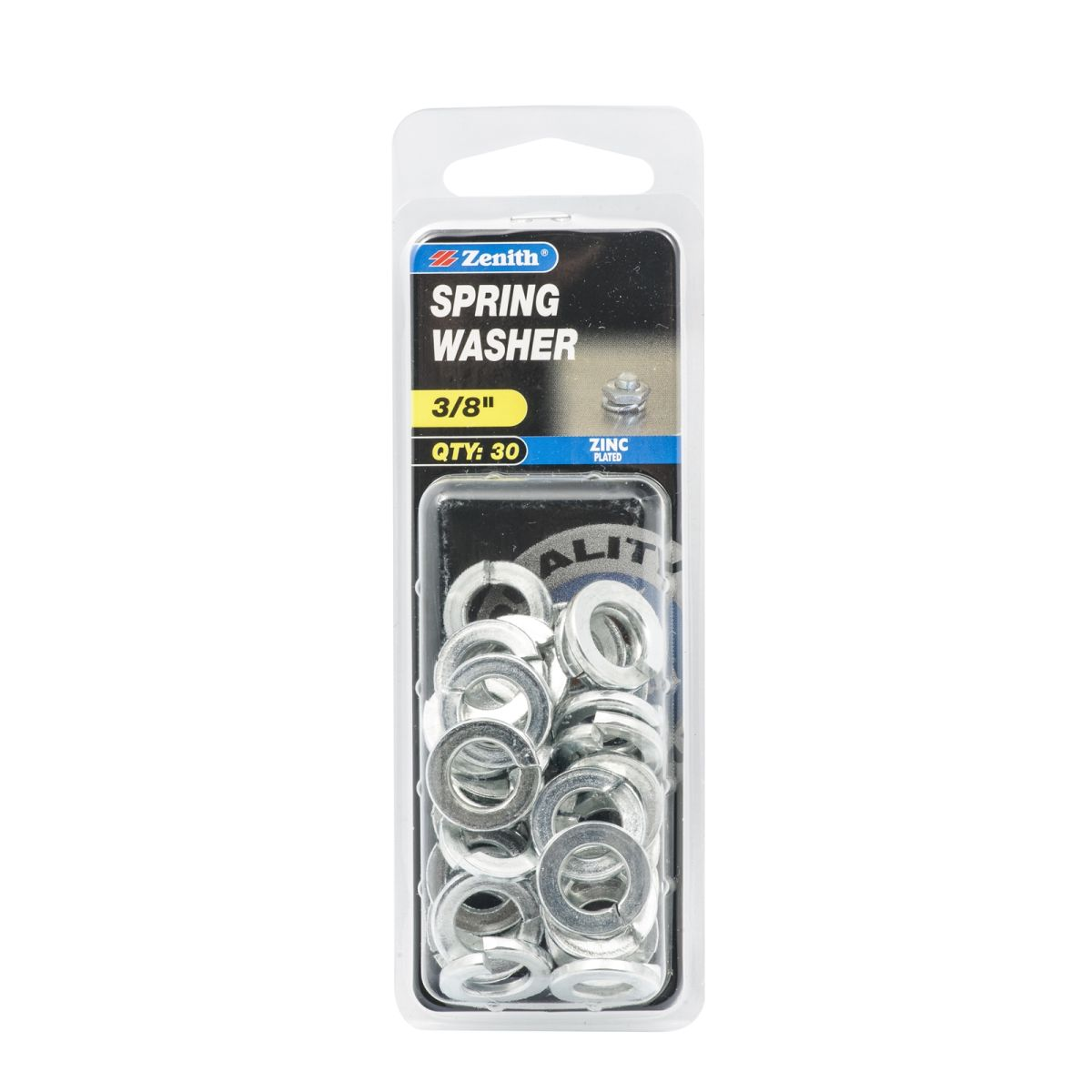 Zenith Spring Washer Zinc Plated