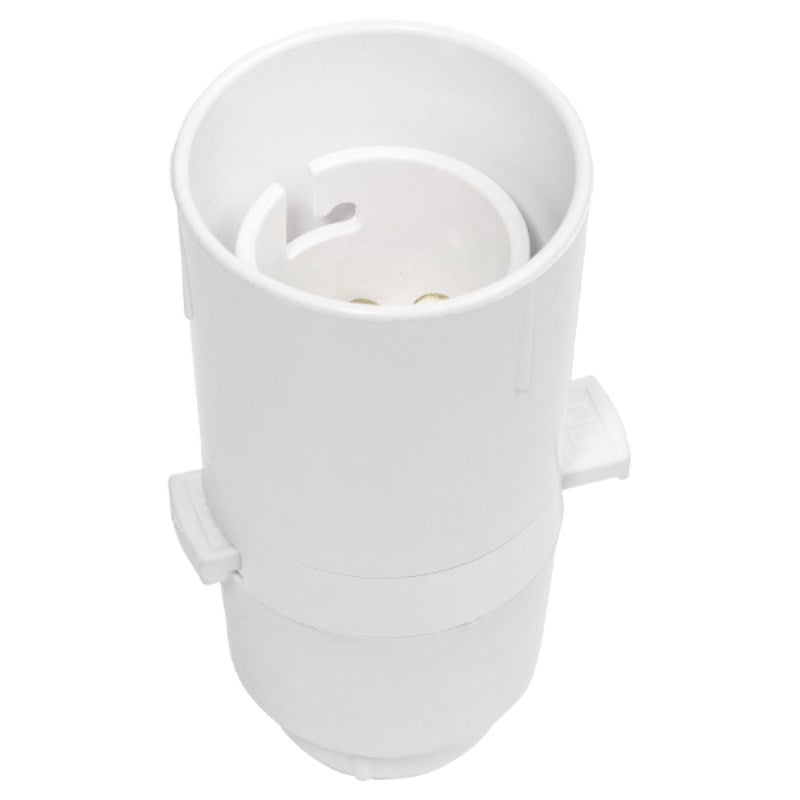 HPM Switched Lampholder, 250V Ac 3A, 1/2 Inch Brass Thread