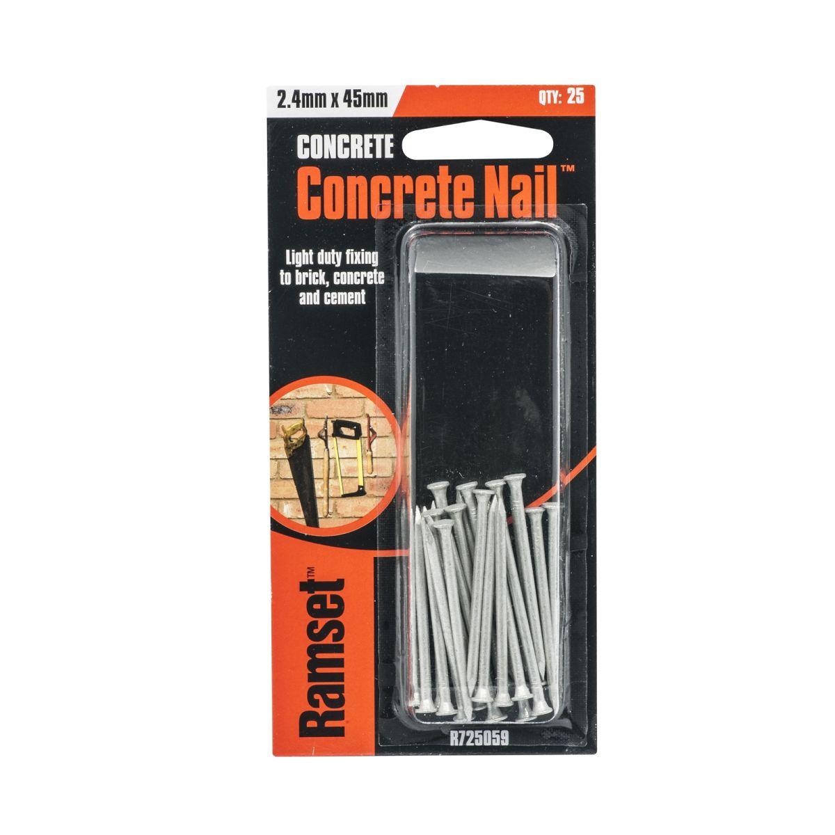 Ramset Concrete Nail