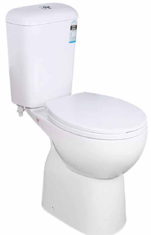 Alpine Close Couple Toilet Suite S Trap - Home Timber & Hardware