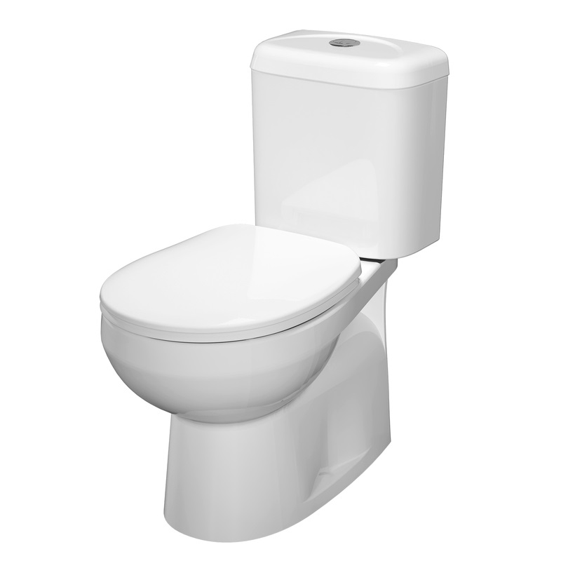Stylus Prima II Close Coupled Toilet Suite Bottom Inlet