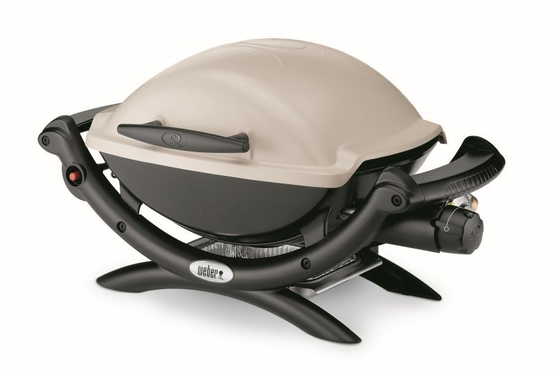 Weber Baby Q1000 Titanium LP BBQ