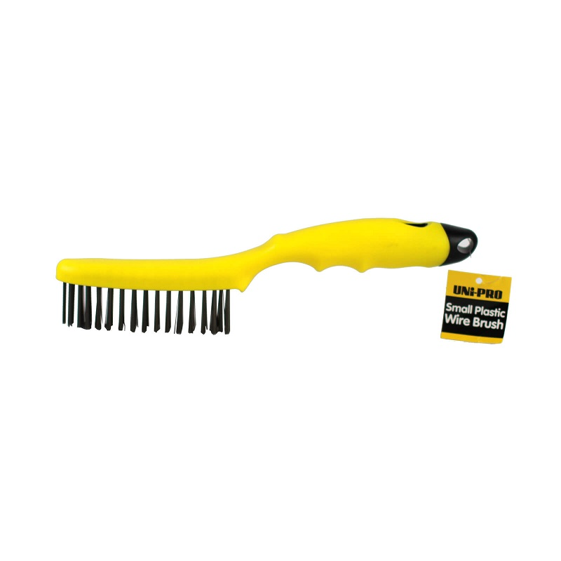 Uni-Pro Wire Brush with Plastic Handle