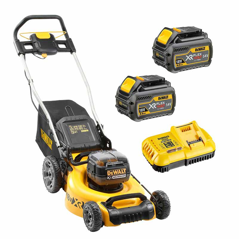 DeWalt 18Vx2 XR Brushless Mower 6.0Ah Kit