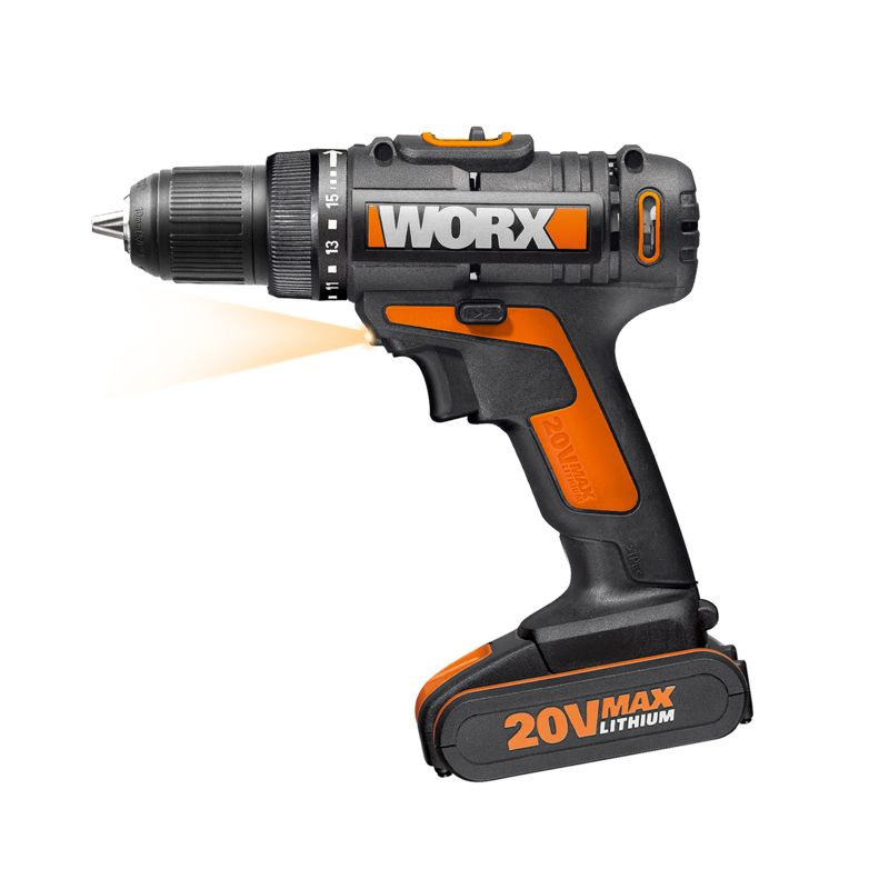 Worx 20V Li-Ion Drill Driver Kit