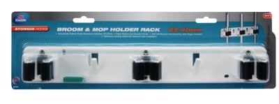 Zenith Hook Broom Holder Trp Rack