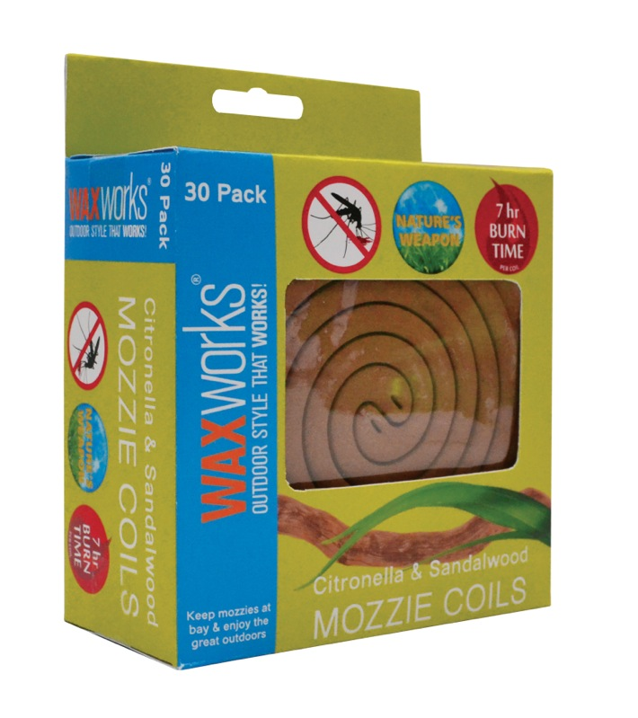 Waxworks Mozzie Coils 30pk
