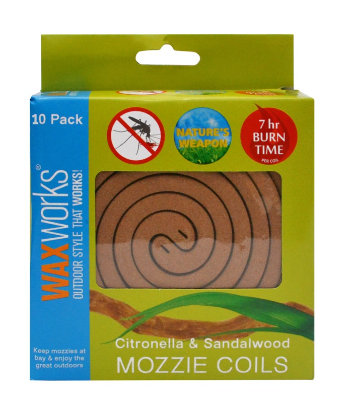 Waxworks Mozzie Coils 10pk
