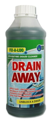 Fix A Loo Drain Away Eco Enzyme Drain Cleaner 1L