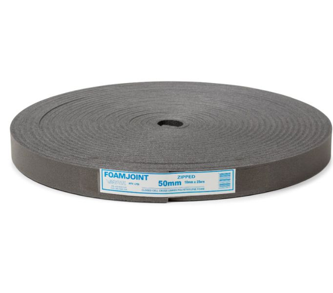 Polyethylene Foam Expansion Jointing 50mm x 10mm x 25m - Home Timber