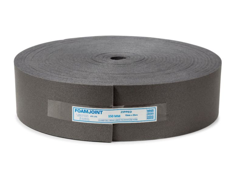 Polyethylene Foam Expansion Jointing 150mm x 10mm x 25m - Home