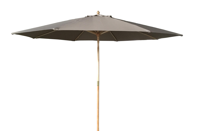 Timber Market Umbrella 2.95M Natural
