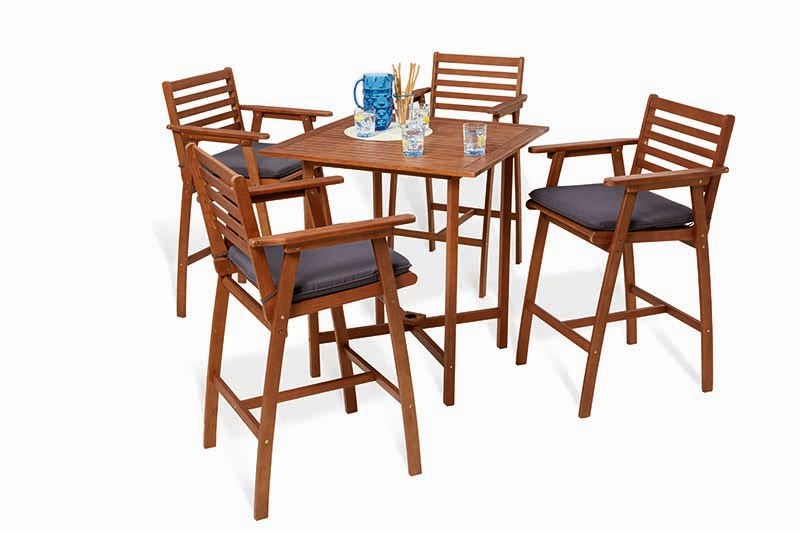 Fallon 5 Piece Timber Bar Setting
