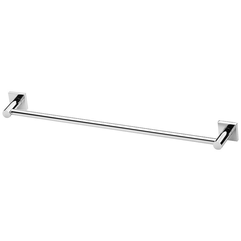 Phoenix Radii Square Single Towel Rail Chrome 600mm