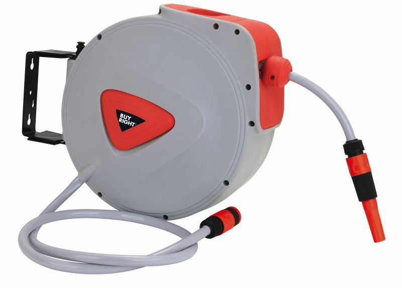 Buy Right Retractable Hose Reel 15m