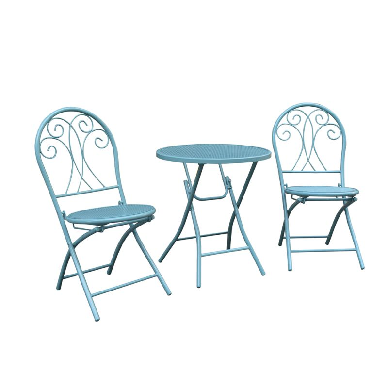 Chloe 3 Piece Steel Decorative Setting