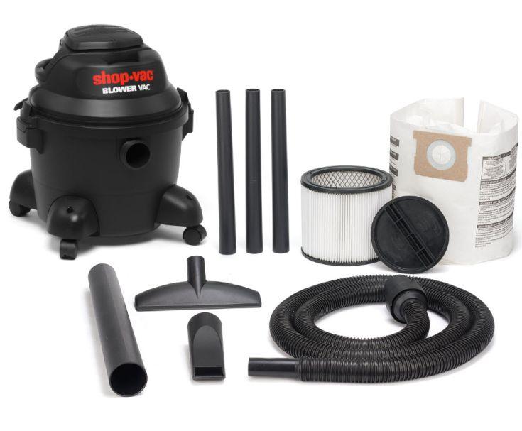 Shop Vac Ultra Blower 25L 1400W Poly Wet/Dry Vacuum
