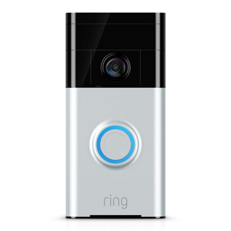 Ring Satin Nickel Video Doorbell