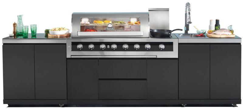 Gasmate Galaxy 6 Burner Kitchen BBQ