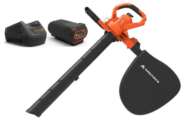 Yard Force 40V Blower Vacuum Kit LB G20A