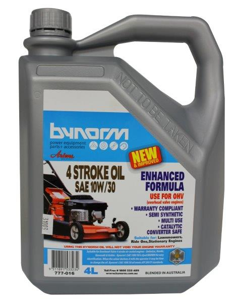 Bynorm 4 Stroke Engine Oil Sae 10w30w 4l Home Timber Hardware