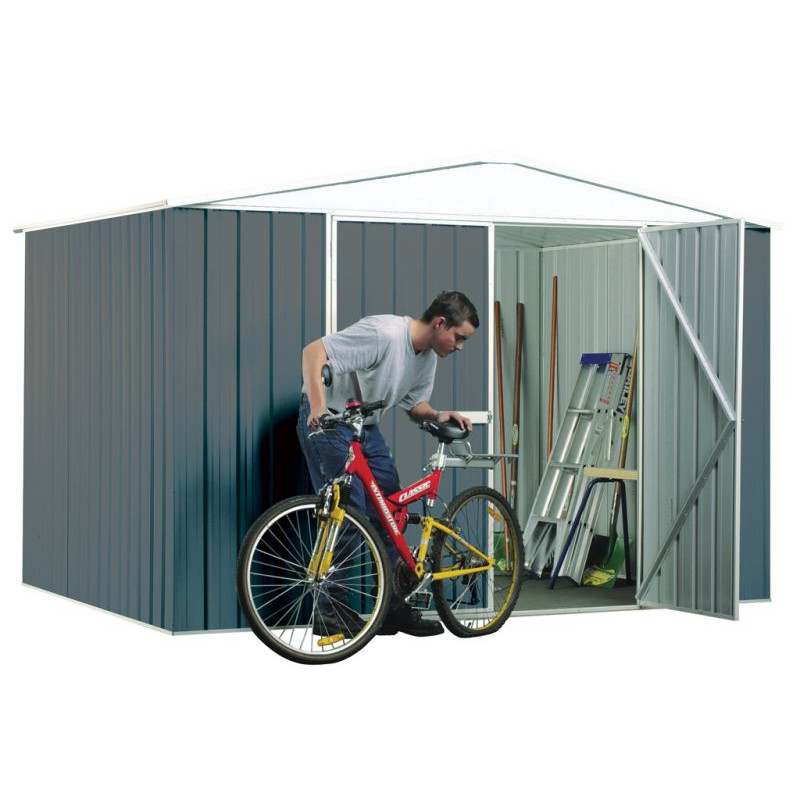 Absco 3.00m x 2.18m x 2.06m Regent Double Door Shed