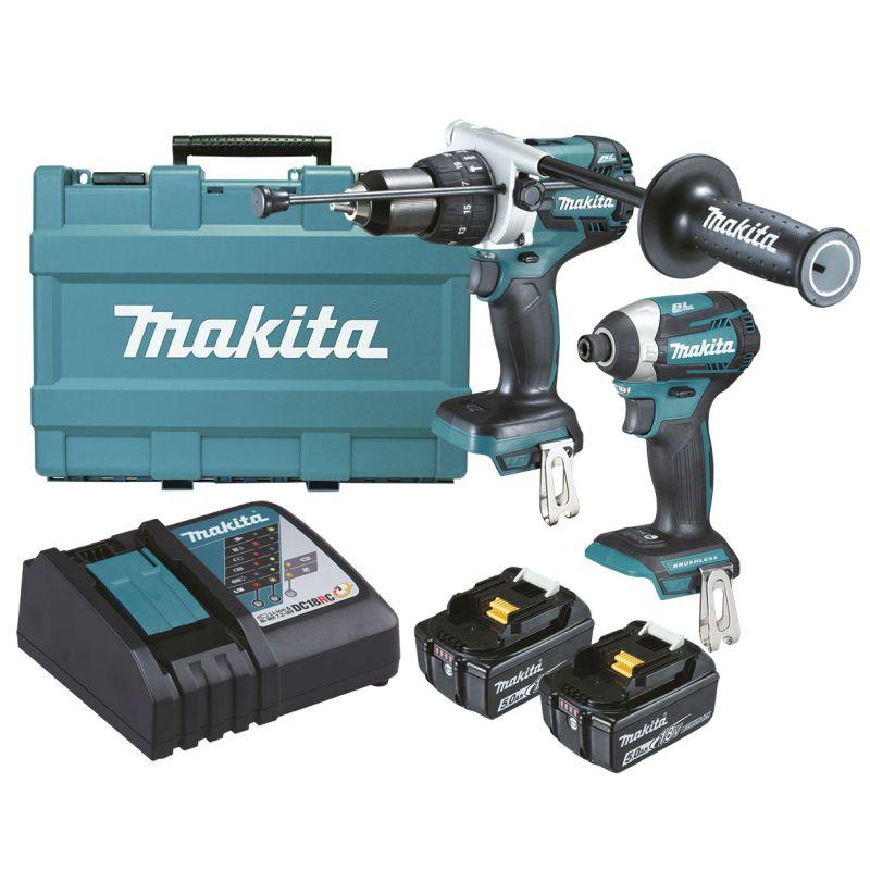 Makita 18V Brushless 2 Piece Combo Kit DLX2176T