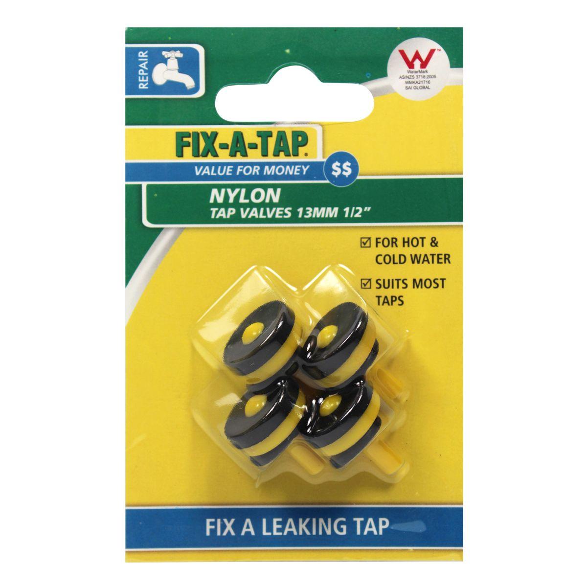 FIX-A-TAP Nylon Tap Valves 13mm