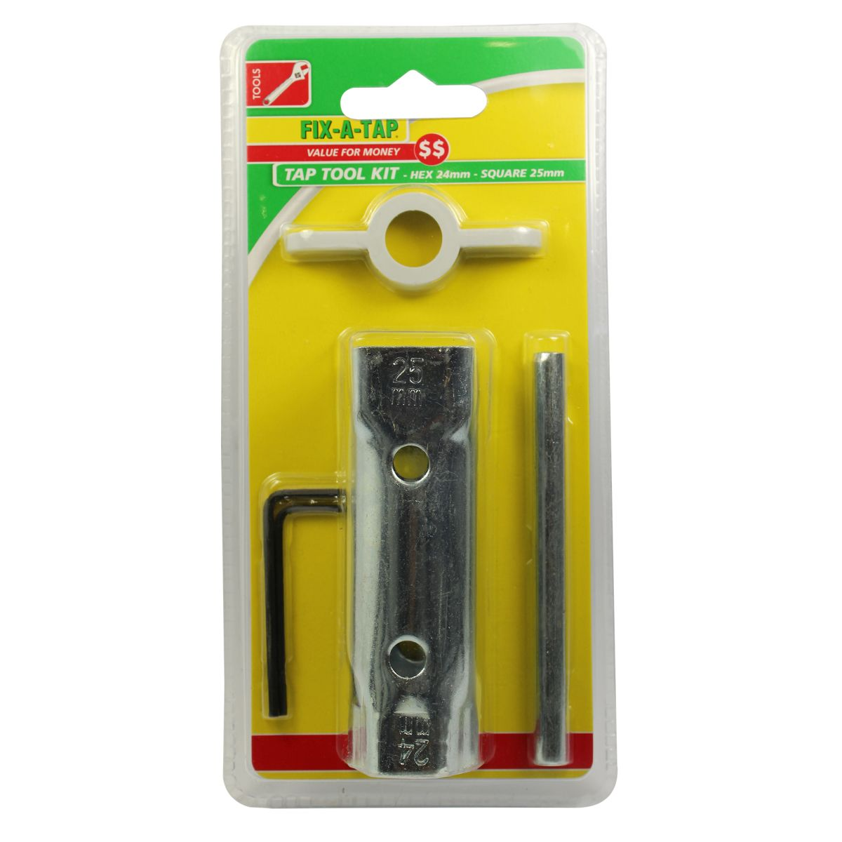 """FIX-A-TAP Tap Tool Kit""""A24mm x 25mm"""