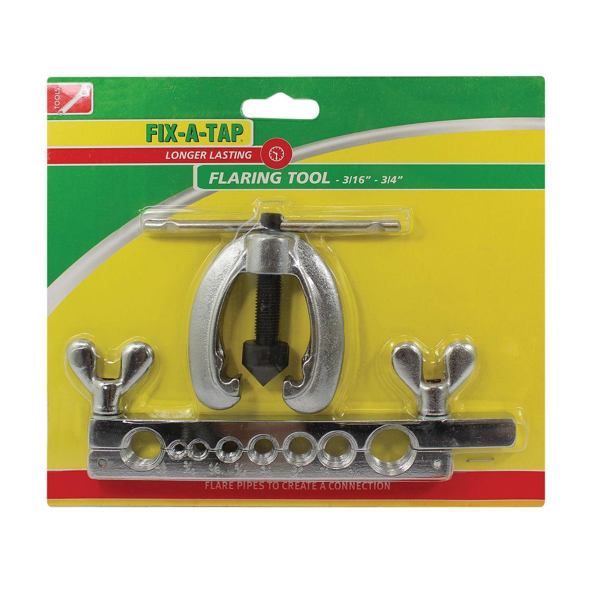 """FIX-A-TAP Flaring Tool Kit 3/16- 3/4"""""""