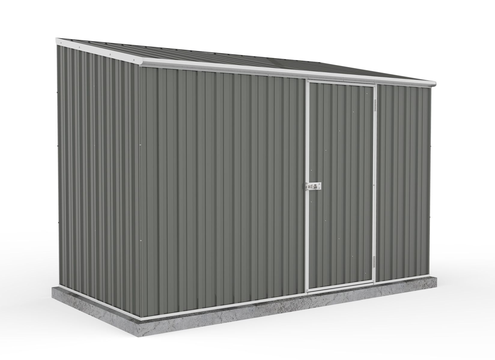 Absco Space Saver Shed Woodland Grey 3.00 x 1.52 x 2.08m