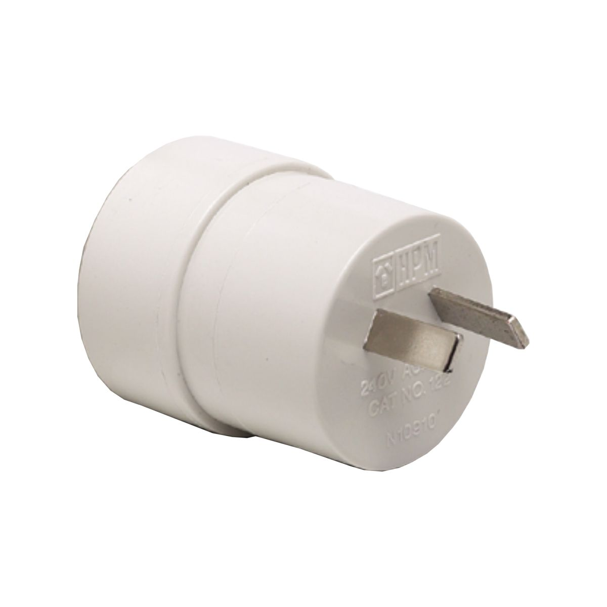 HPM Travel Adaptor Plug White