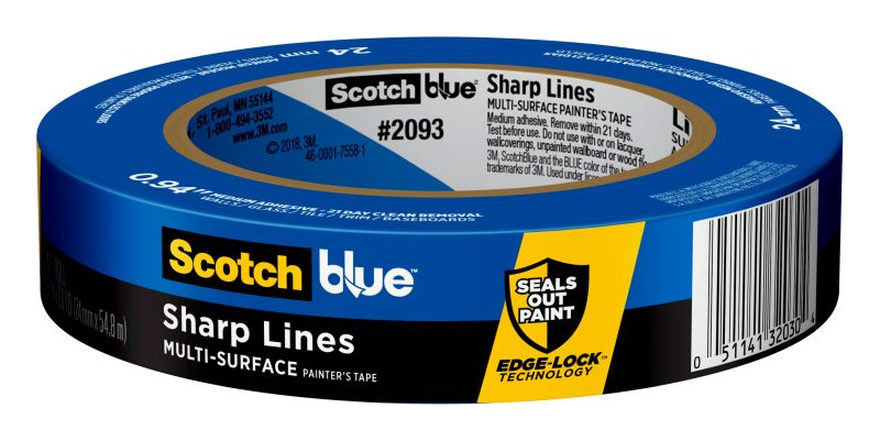 ScotchBlue Sharp Lines Painter's Tape 55m