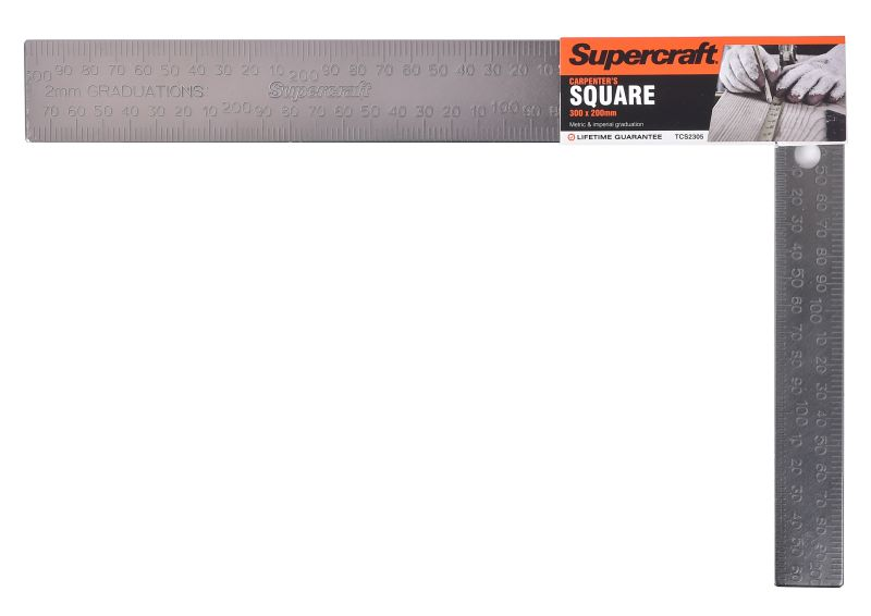 Supercraft Square Carpenters 300x200mm